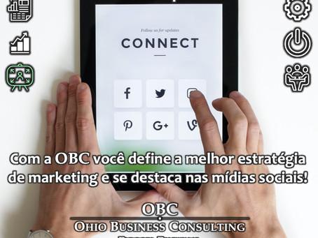 Com a OBC sua empresa se destaca nas Mídias Sociais!
