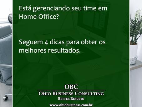 A recomendação ainda é ficar em casa! Mas como gerenciar seu time em Home-Office?