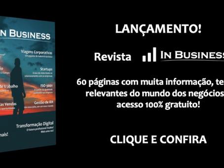 Lançamento da revista corporativa In Business!