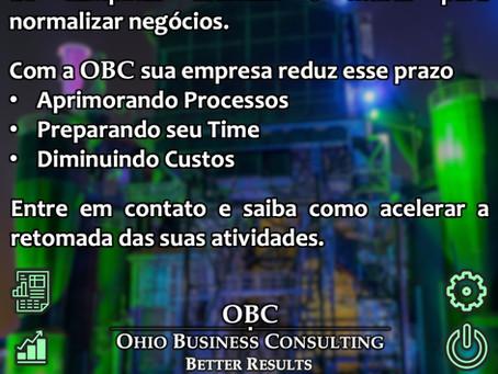 Acelere a retomada de seus negócios com o suporte da OBC!