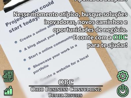 Não pare as atividades da sua empresa... Adapte sua forma de trabalhar!