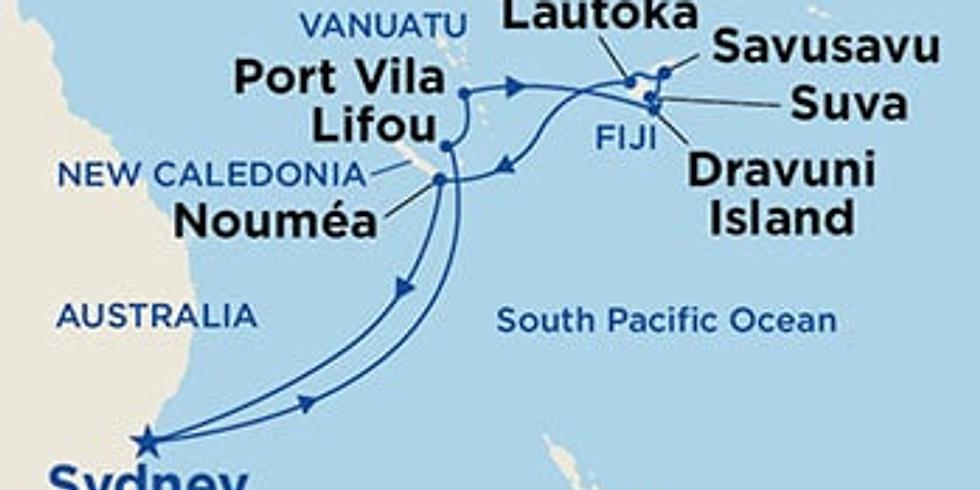 Cruise on the Majestic Princess to the Fiji Islands