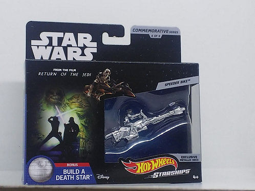 Star Wars Hot Wheels Commemorative Starships- Speeder Bike