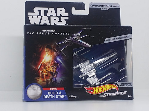 Star Wars Hot Wheels Commemorative Starships-Resistance X-Wing Fighter