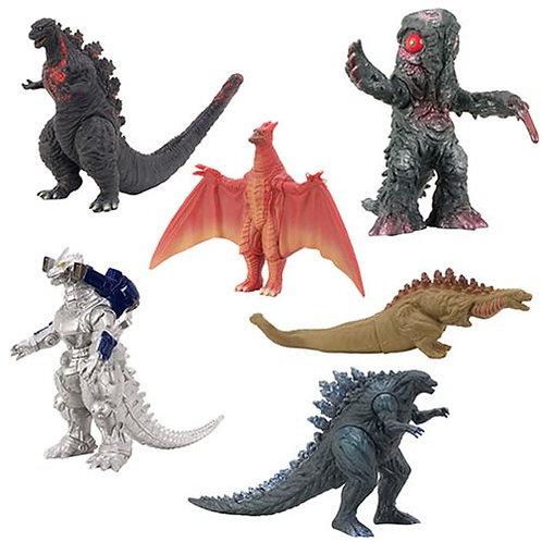 Godzilla 3 1/2-Inch Action Figure Wave 1 Case