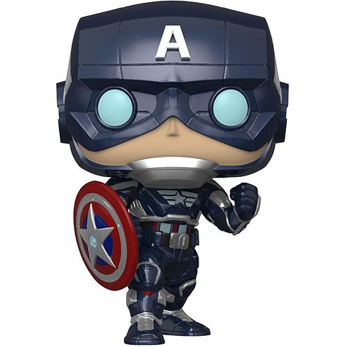 Funko Pop Vinyl Marvel's Avengers Game Captain America
