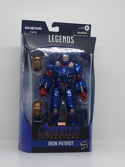 Avengers Marvel Legends- Endgame -Iron Patriot