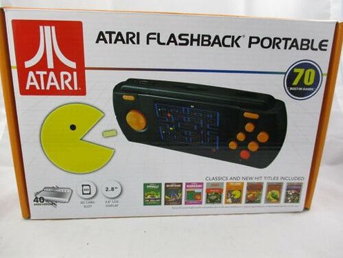 Atari Flashback Portable 70 Built In Games 40th Anniversary