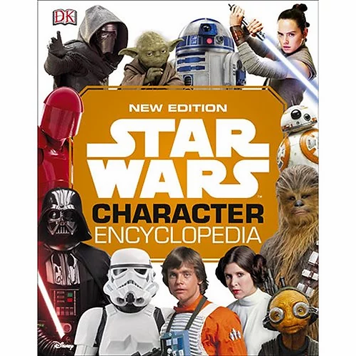 Star Wars Character Encyclopedia New Edition Hardcover Book