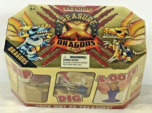 Treasure X Dragons GOLD RIP DIG AND OOZE REAL GOLD DIPPED TREASURE.