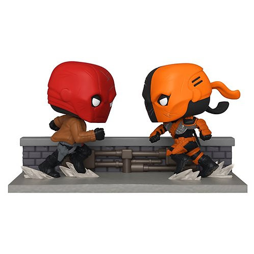 Red Hood vs. Deathstroke Comic Moment Pop! 2-Pk SDCC 2020 PX Preview Exclusive