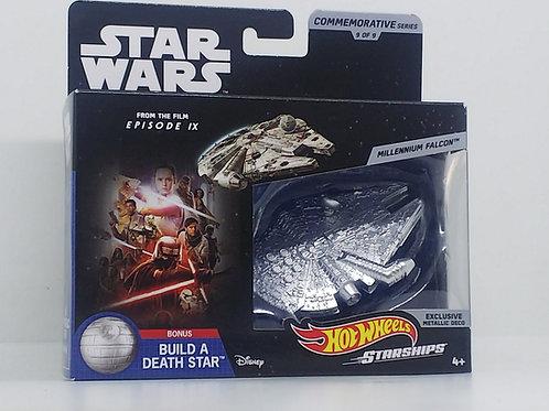 Star Wars Hot Wheels Commemorative Starships-Millennium Falcon