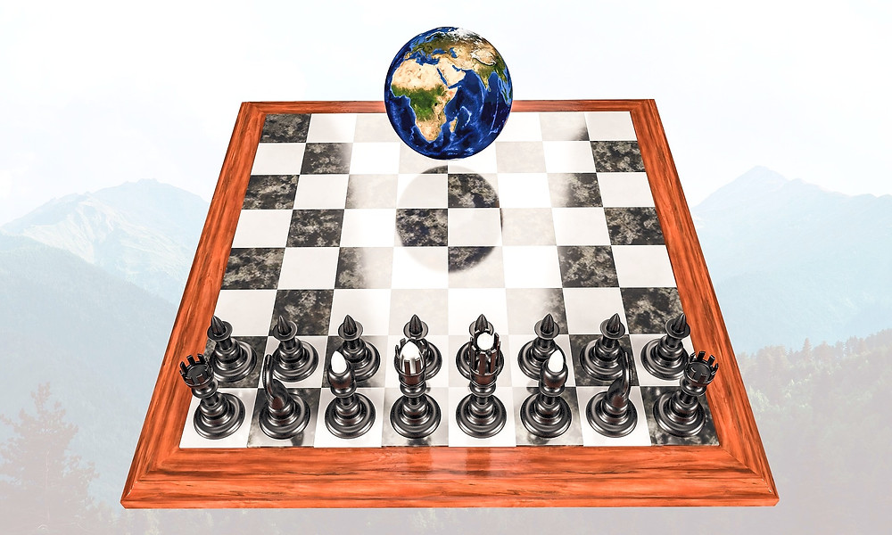 Chess strategy planet