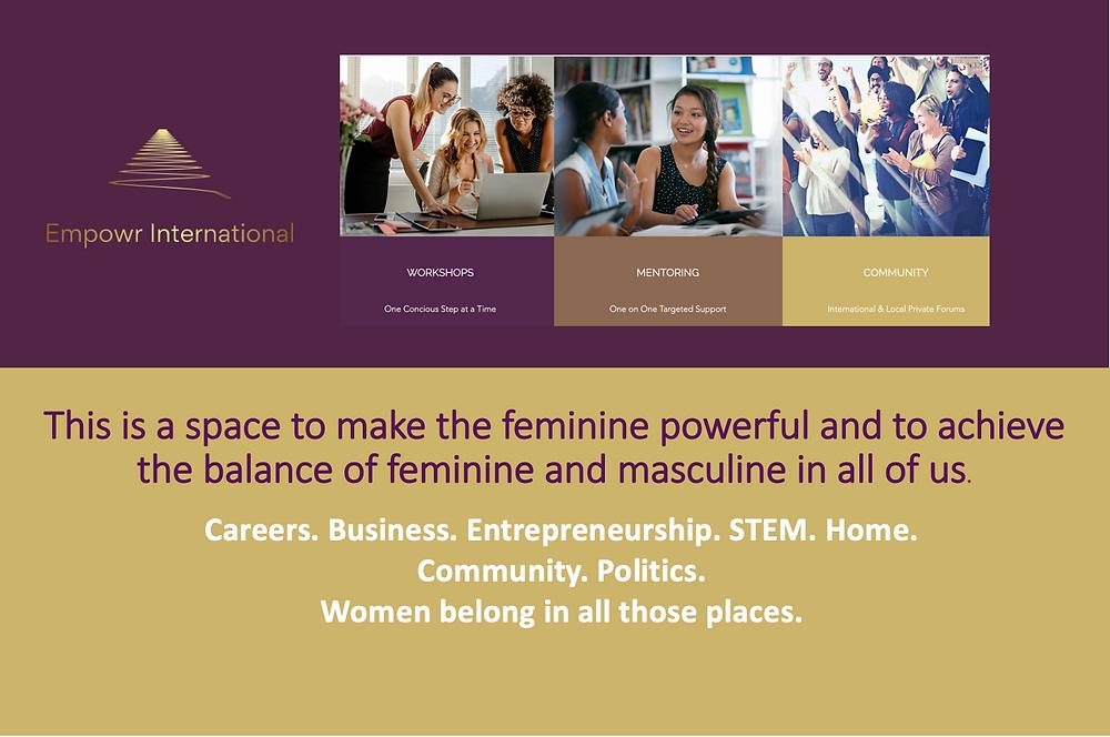 Women Empowerment Workshops, Mentoring and Community - Empowr International