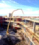 industrial concrete pumping