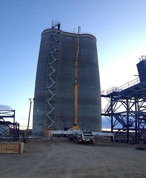 50m concrete pumping, Grain Elevator, Grimshaw AB. 2015.j