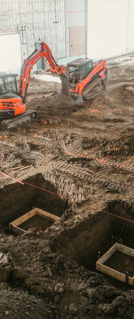 Kubota Dealership Build - McLean Contracting