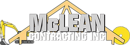McLean Contracting Logo - Banner Lay-out
