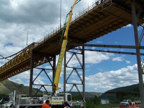 Bridge resurfacing, Dunvegan AB. 2008.jp