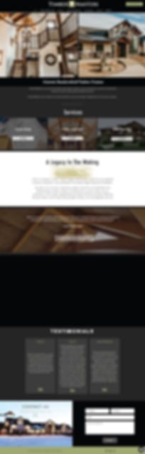 Raven Creative Website Pages_Timber Mast