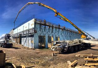 ICF walls 50m - Grande Prairie, AB