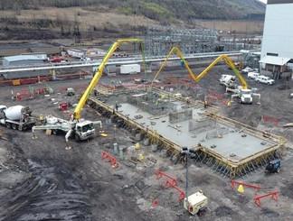 800m industrial slab PCL Grande Cache, A