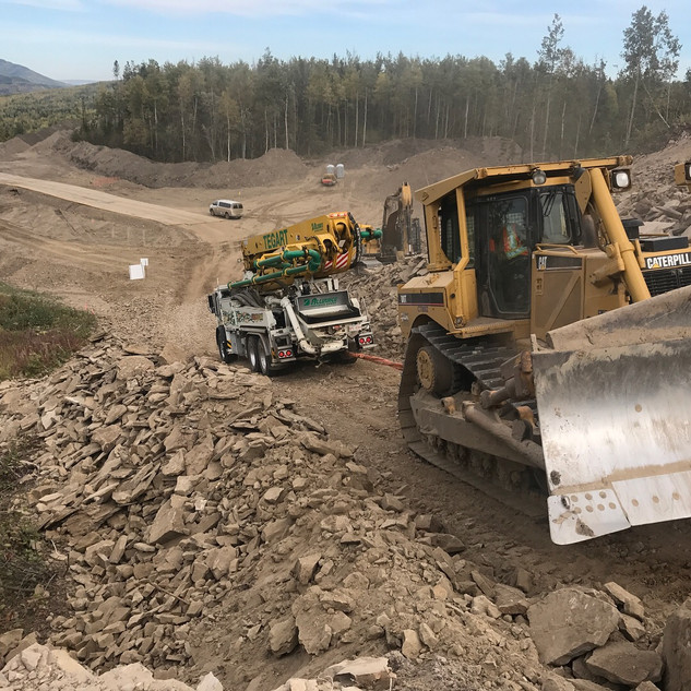 38m remote pours, moberly lake bc 2017 (