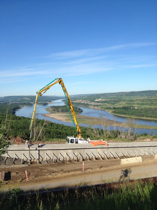 Retention Wall - Peace River, AB
