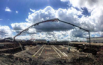 50m concrete pumping, commercial, grande prairie