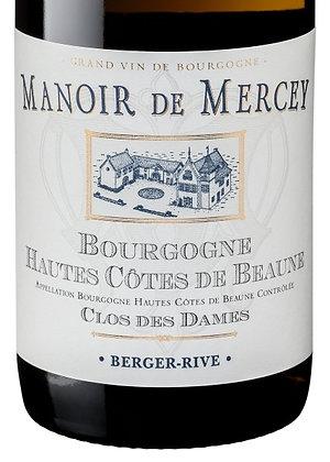 """Manoir de Mercey, Hautes Côtes de Beaune blanc """"Clos des Dames"""" 75cl"""