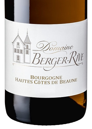 Domaine Berger-Rive, Hautes Côtes de Beaune blanc 75cl
