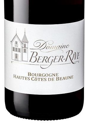 Domaine Berger-Rive, Hautes Côtes de Beaune Rouge 75cl