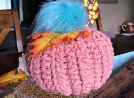 Crochet my Jojo Pom Pom Pumpkin