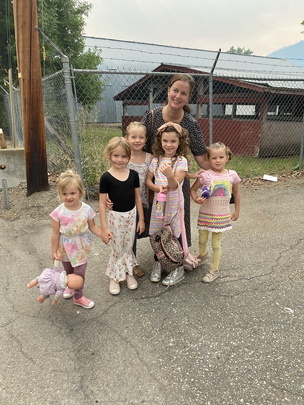 These little girls enjoyed dance camp in Salmon Arm.