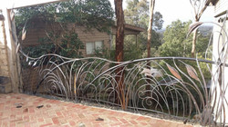 Forged steel balustrade