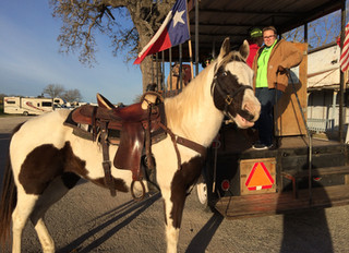 Mesquite Trail Riders Camp in Downtown Kingsbury