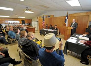 Kingsbury Texas Inaugural City Commission Meeting