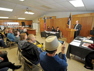 Kingsbury Texas Inaugural City Commission Meeting