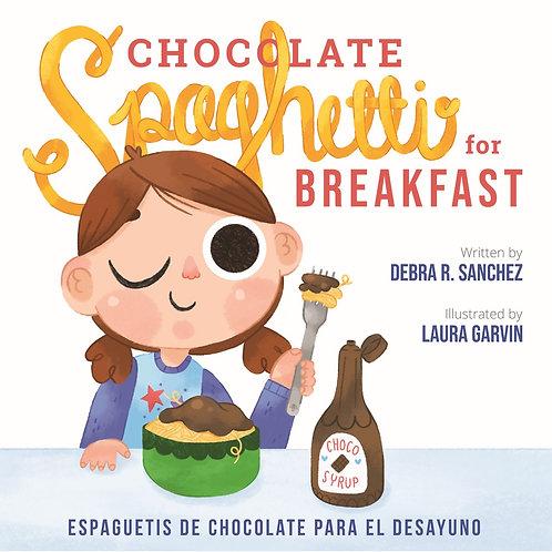 Chocolate Spaghetti for Breakfast / Espagetis de Chocolate para el Desayuno