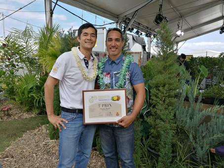 3ème prix pour la Vanille connectée de Hotu Vanilla 2017