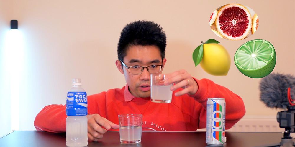 100 Plus Pocari Sweat Isotonic Drink