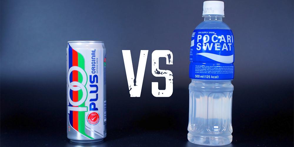 100 Plus drink Pocari Sweat Drink