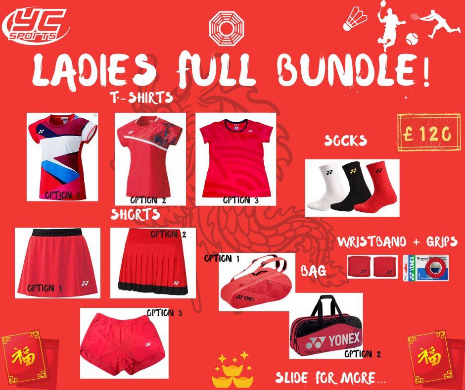 YC Sports Chinese New Year Sale Bundle