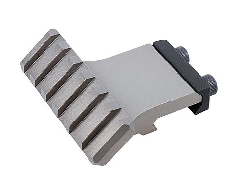 NA-SM-RAG, Angled Offset Picatinny Rail, gray