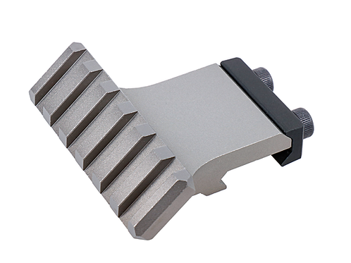 NA-SM-RAG, Angled Offset Picatinny Rail, gray