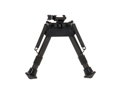 "NA-BIP-SQE, Small bipod, 17-24 cm / 6.7-9.4"", extended lever, carbon"