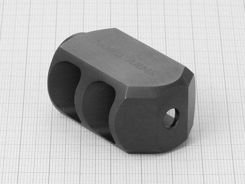 NA-MB223-35S, Lateral Muzzle Brake, 223/556, 35 mm, 1/2x28TPI