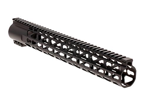 "NA-HG308-15KM, Handguard, 15"", KeyMod, free float, titanium nut"