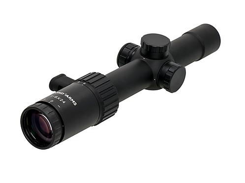 Riflescope 1-6x24, HD lenses, illuminated