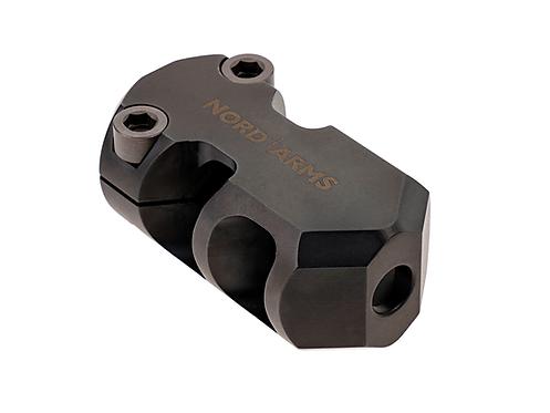 NA-MB308-35C-M15, Muzzle brake, 308/762, 35 mm, clamp, M15x1